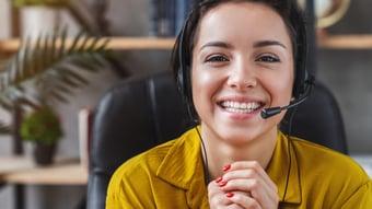 College admissions call center services representative