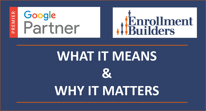 Becoming a Google Premier Partner: What It Means and Why it Matters